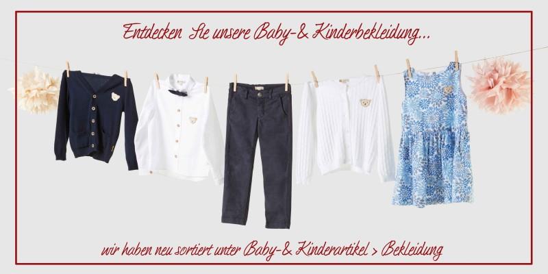 Kinderbekleidung für Jungs und Mädchen