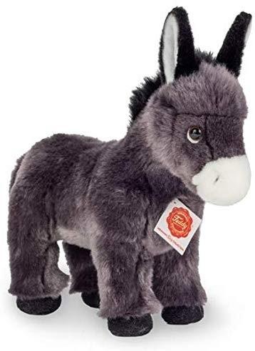 Esel stehend grau 25 cm