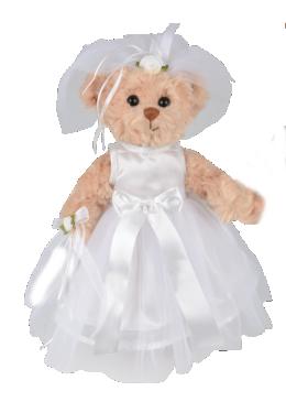 Bukowski Teddybär Braut 30 cm