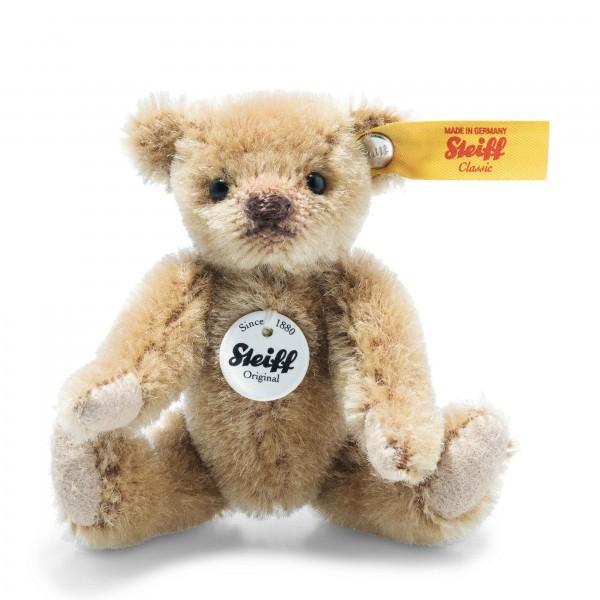 Steiff Teddybär 9 cm hellbraun Miniatur Mohair